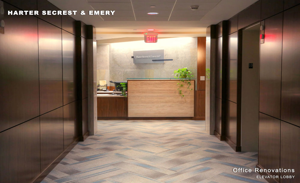 Harter Secrest & Emery Office Renovations