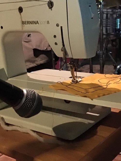 Sound Of Sewing Machine Sabine Kussmaul Visual Artist Mesmerizing Sewing Machine Sound