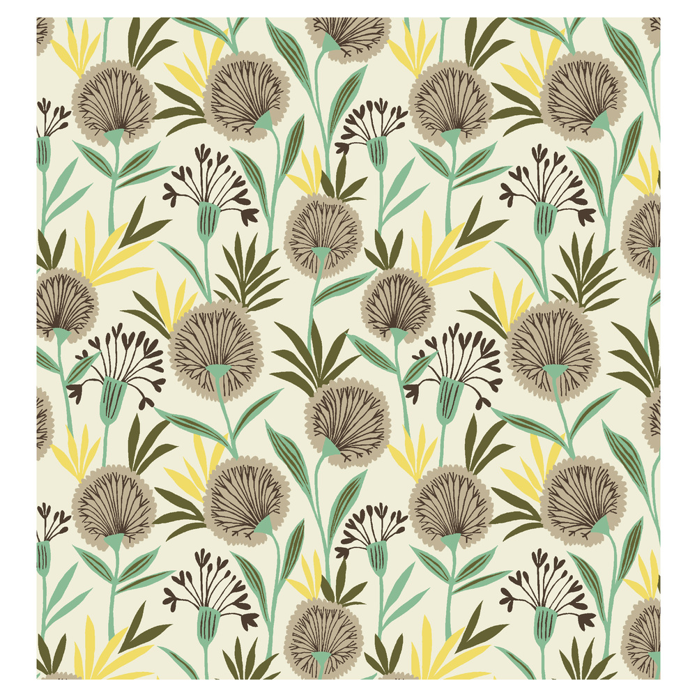 Dandelion Fabric for  Dashwood Studio    © Brie Harrison 2014