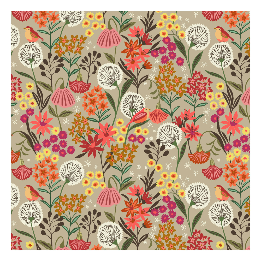 Suffolk Garden Fabric for  Dashwood Studio    © Brie Harrison 2014
