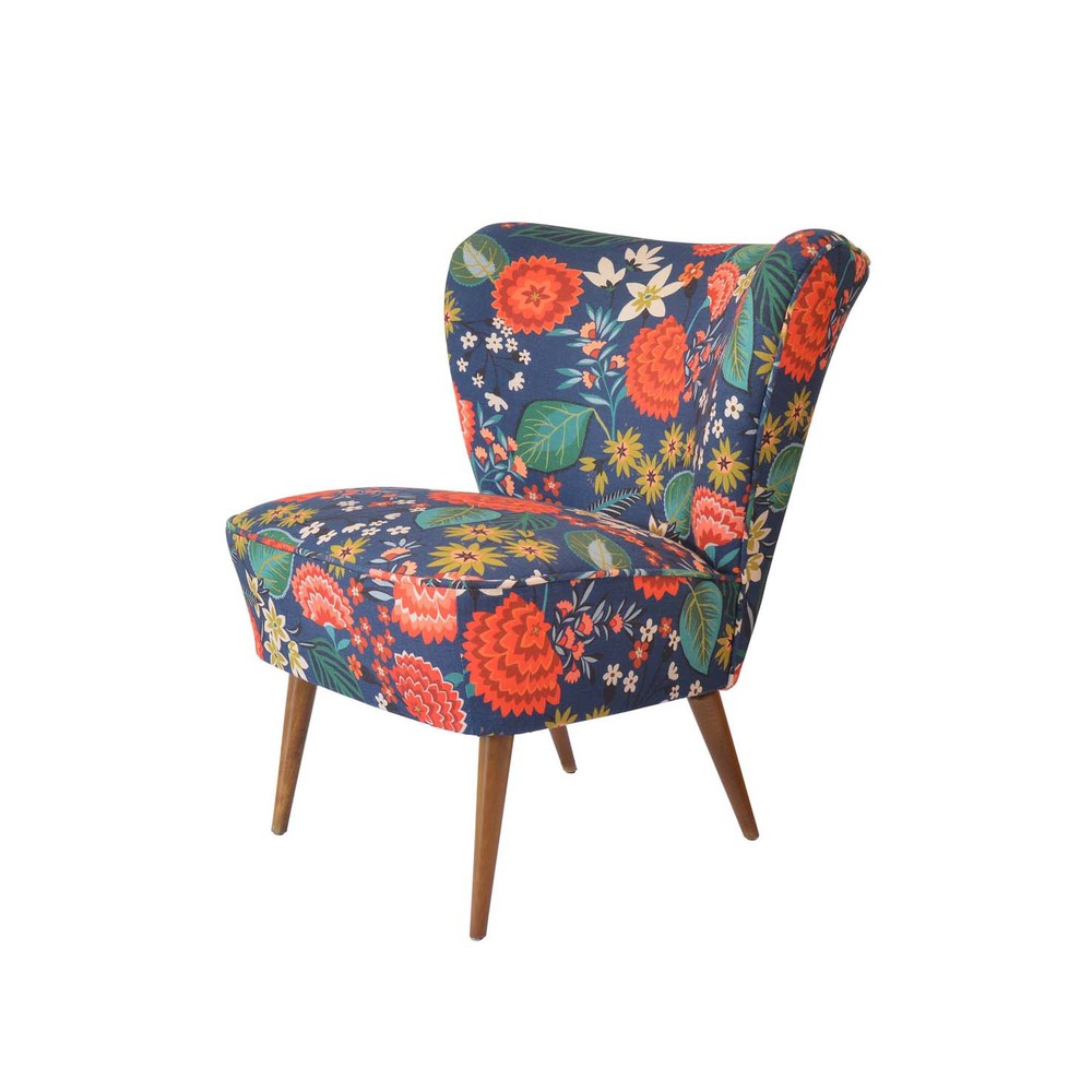 Carnation Fabric Chair for  Winter's Moon    © Brie Harrison 2015