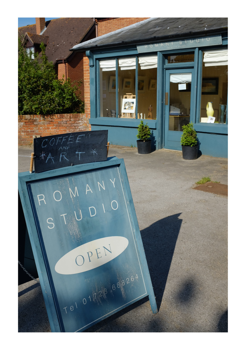 The  Romany Studio  in Tunstall, near Snape now has a collection of my work in their summer show. The gallery is open  May – October 2015, Wednesday – Sunday, 10am – 5.30pm. The space features work by artists including Clare Curtis, Jenny Partridge and Nigel Casseldine.