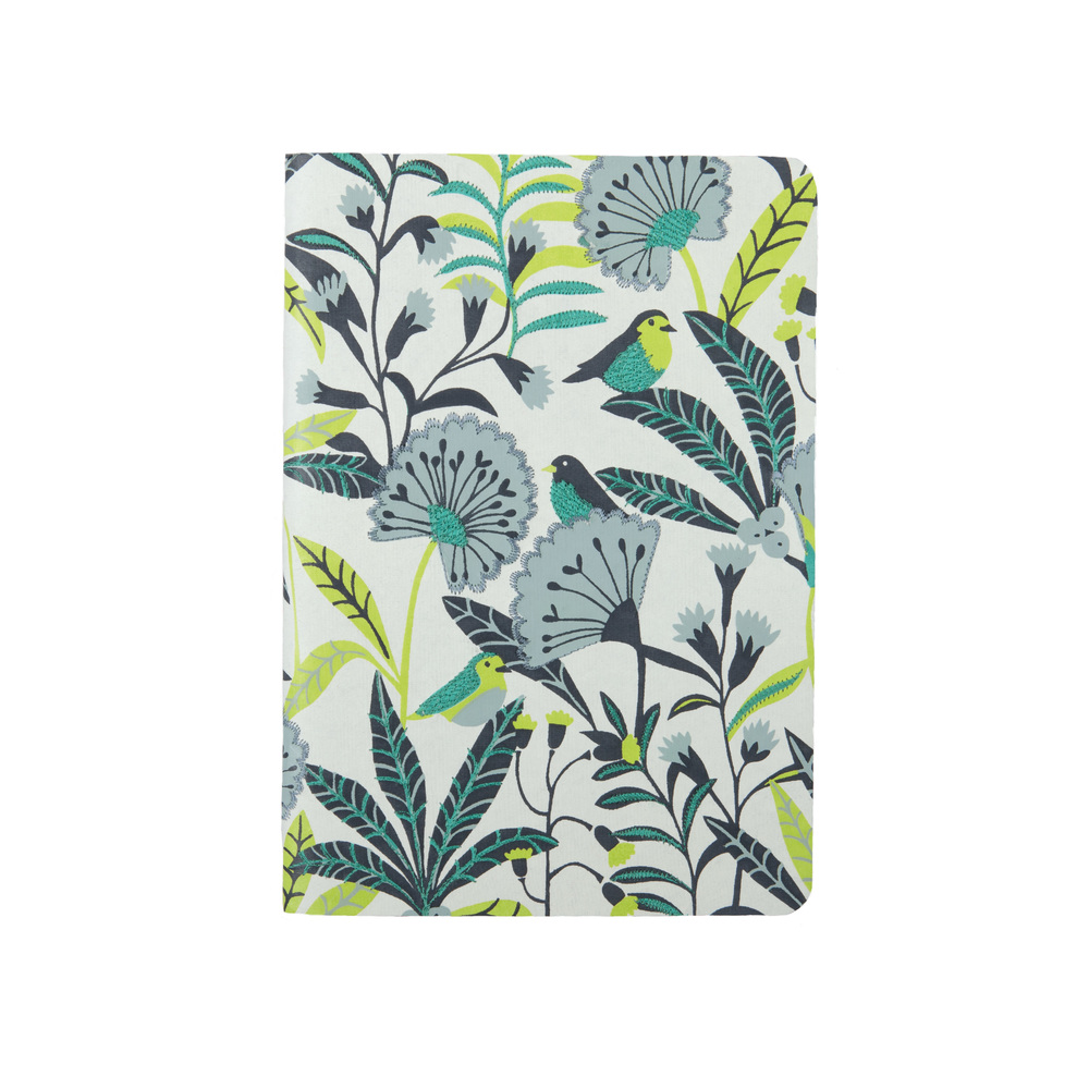Avian Tropics Fabric Notebook with  Galison    © Brie Harrison 2016