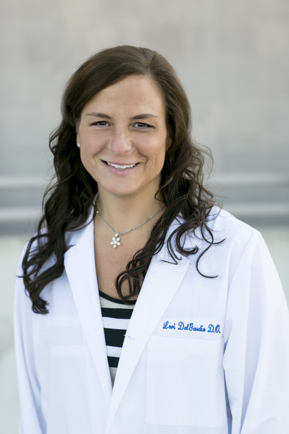 Dr. DelGaudio specializes in obstetrics and gynecology.