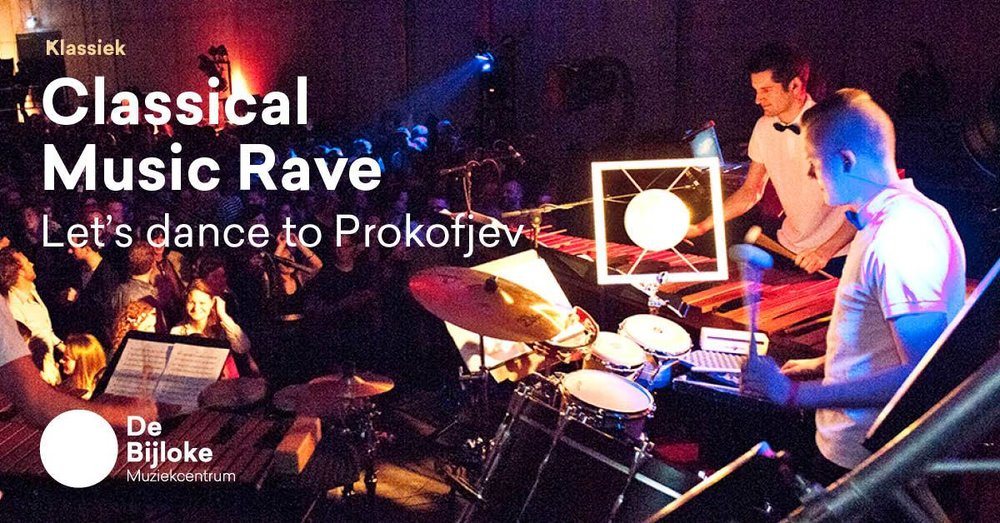 Will you come to the first-ever Belgian Classical Music Rave?
