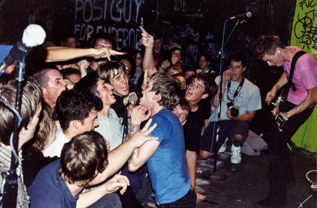 memoriesoftomorrowphotos: The Explosion at 924 Gilman Street, Berkeley, California. Summer 2002.