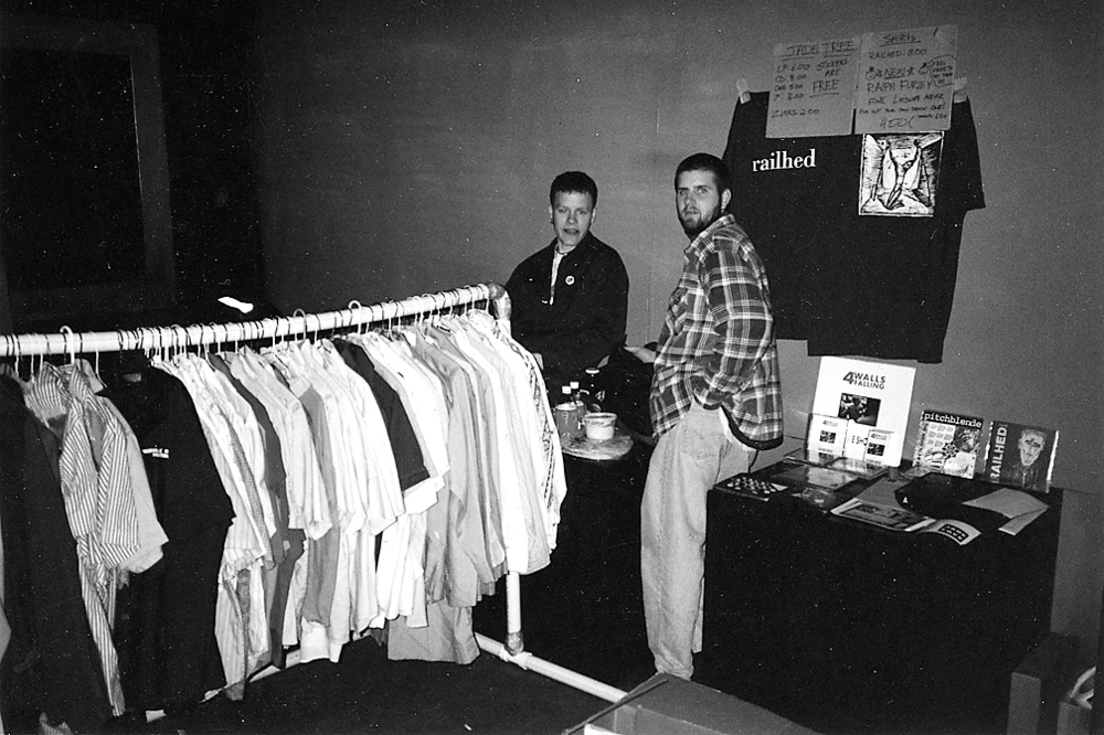 Jade Tree Merch Setup / 1994