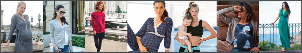 Styles for both pregnant and nursing moms!