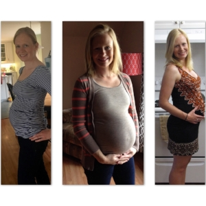 Three pregnancies... each one unique!