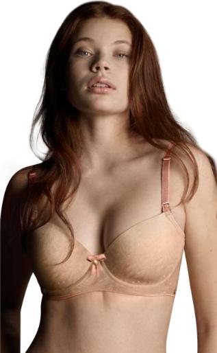 bef4d0beb5365 Pretty T-Shirt Bra - Nude — Hazelnut   Rose