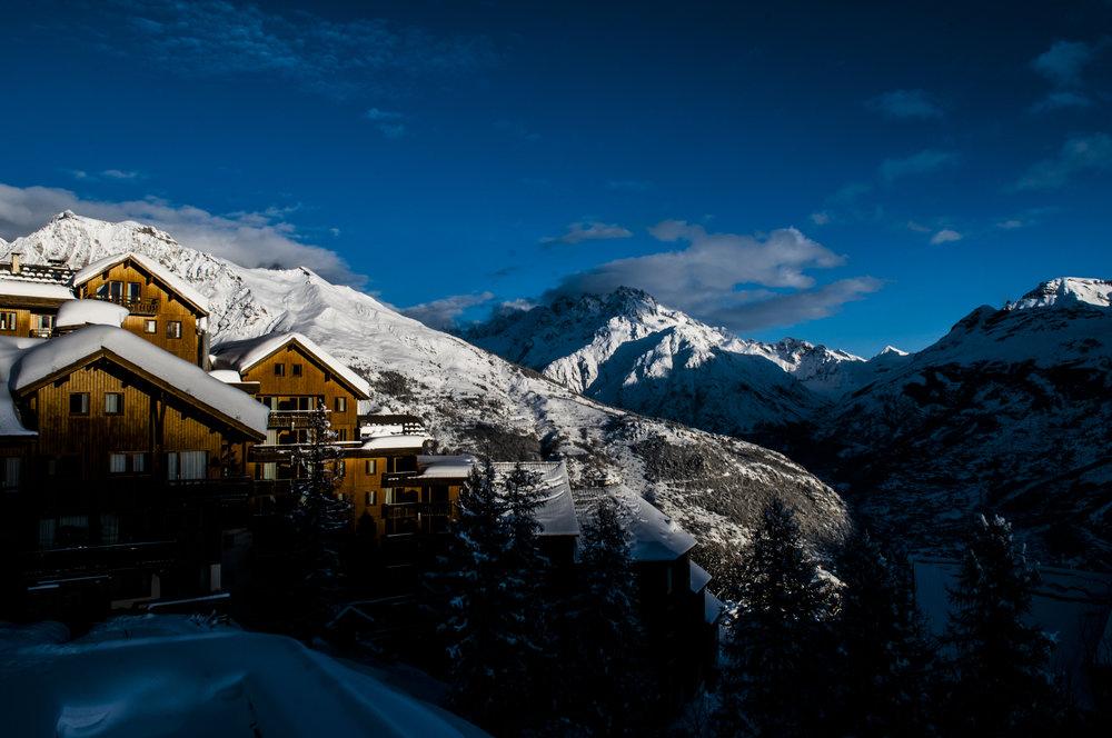Puy St. Vincent   Üdvözlünk a francia Alpok szívében