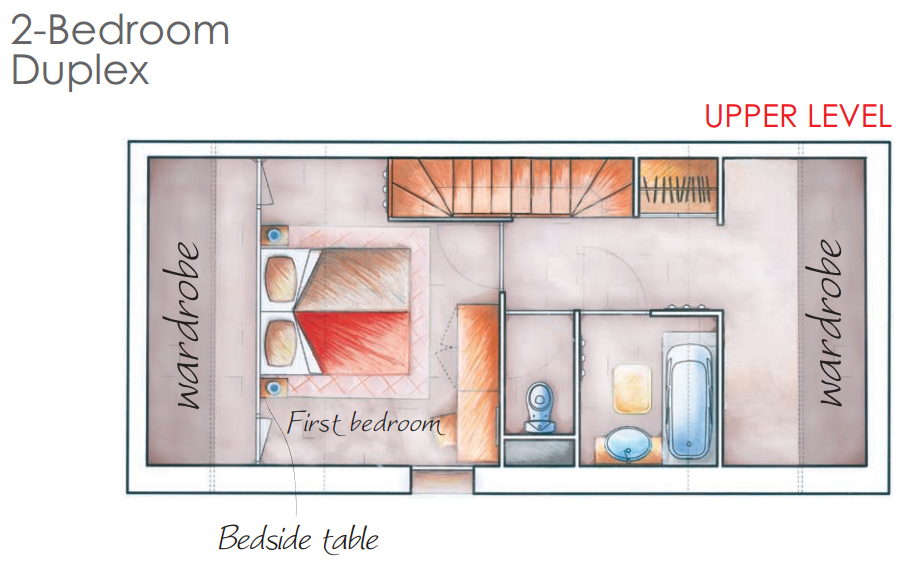 - - Nappali (kihúzható franciaágy, étkező, konyha, terasz)- Háló (kihúzható ágy vagy emeletes ágy)- Háló2(franciaágy vagy 2 szimpla ágy)- Egyéb (fürdőszoba, külön WC)