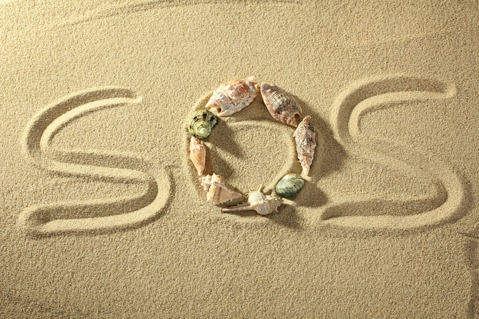 S.O.S. Message in Sand Saves Tourist Lost in Australian Outback
