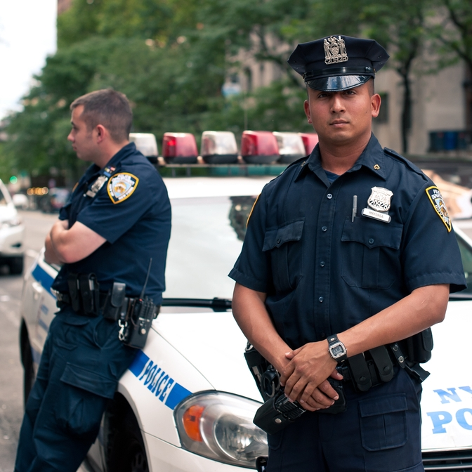 Cops Escort Fallen Teammate's Child to Father-Daughter Dance
