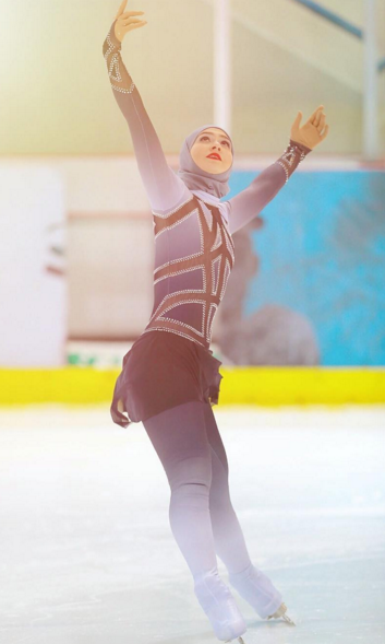 Meet the Ice Princess From the Desert Ready to Make Olympic History