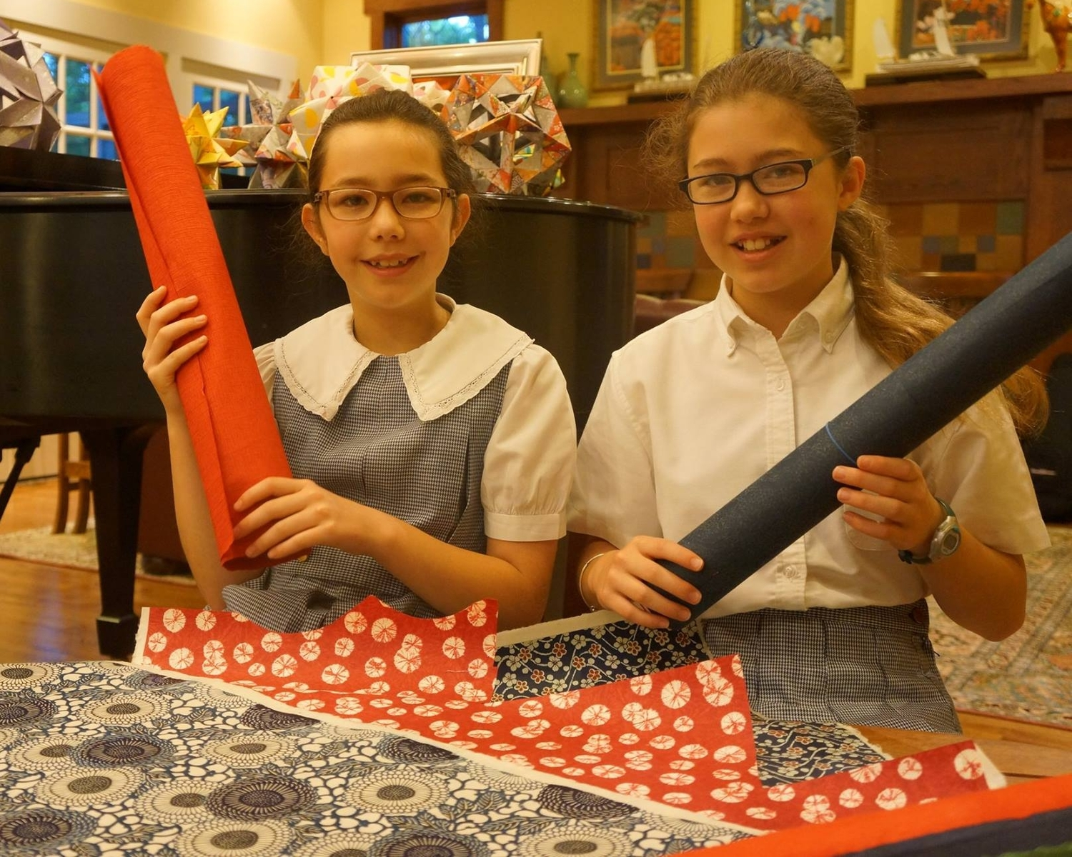 How Two Sisters Raised $815K for Charity By Folding Origami