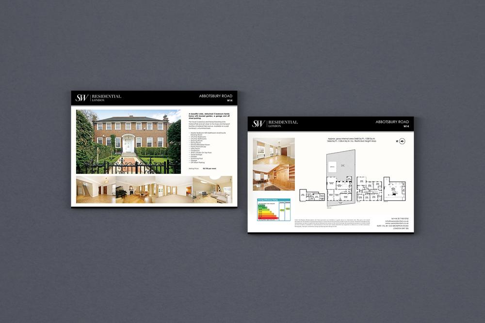 dowling jones sw residential brochure design