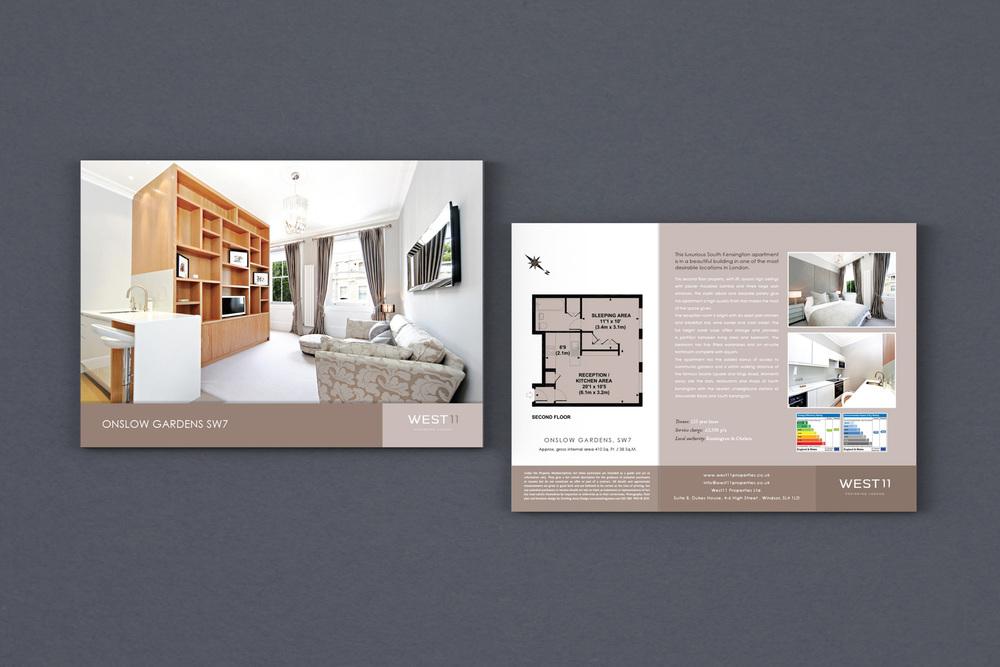 dowling jones west 11 brochure design