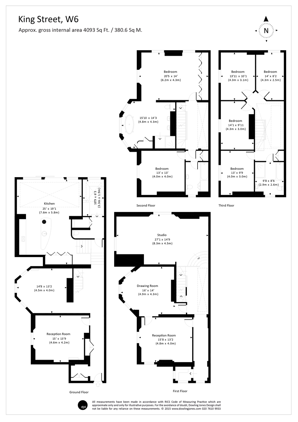 dowling jones king street floor plan