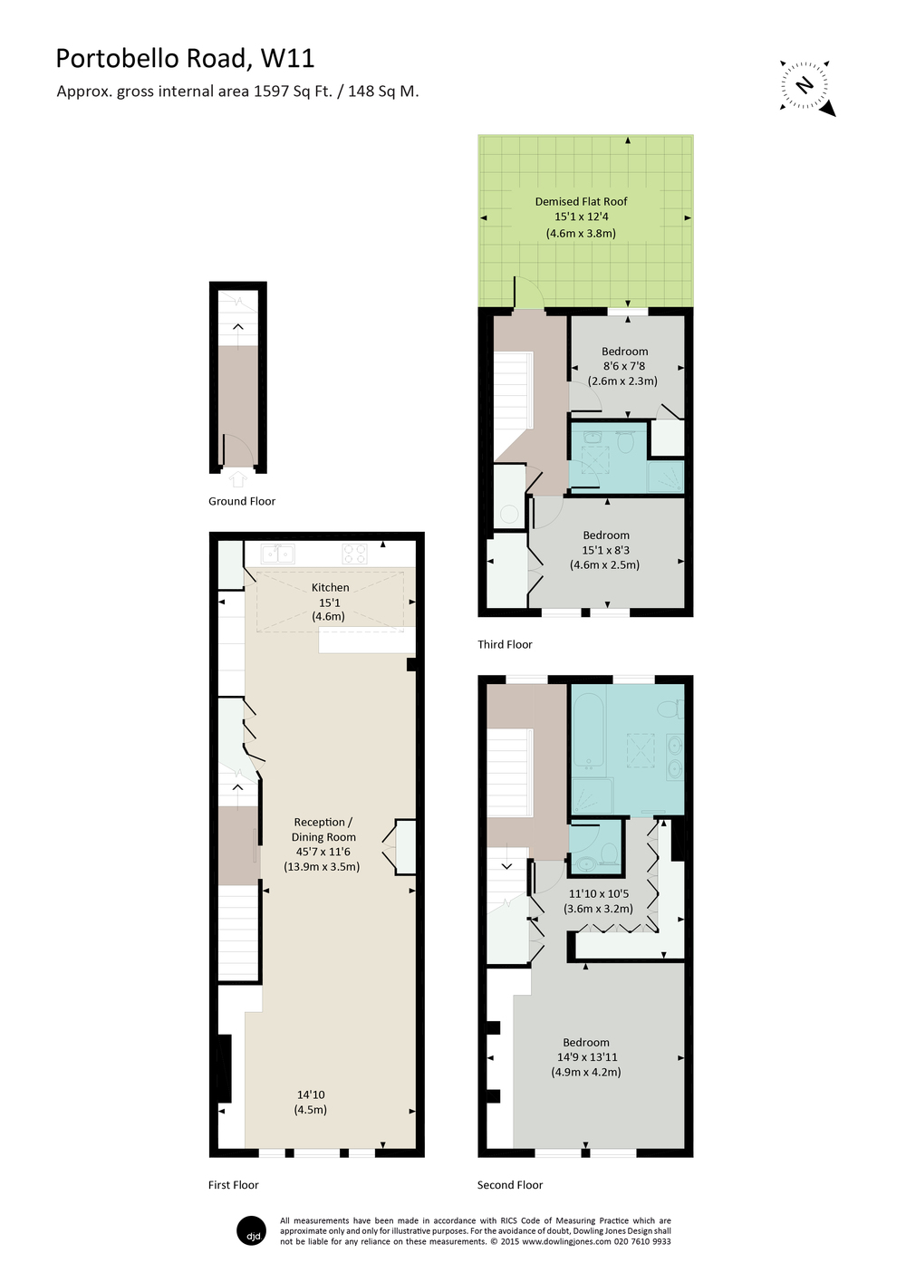 dowling jones portobello road colour floor plan