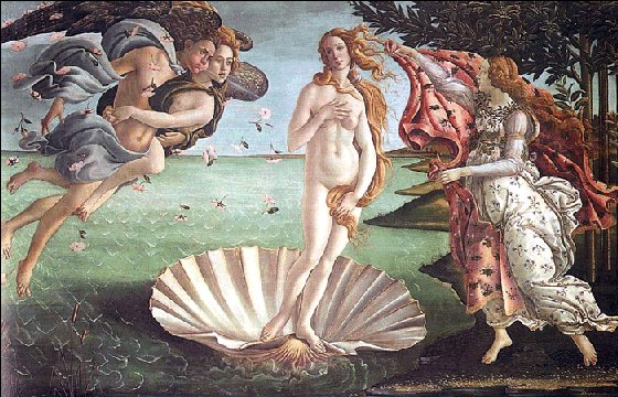 Venus by Botticelli