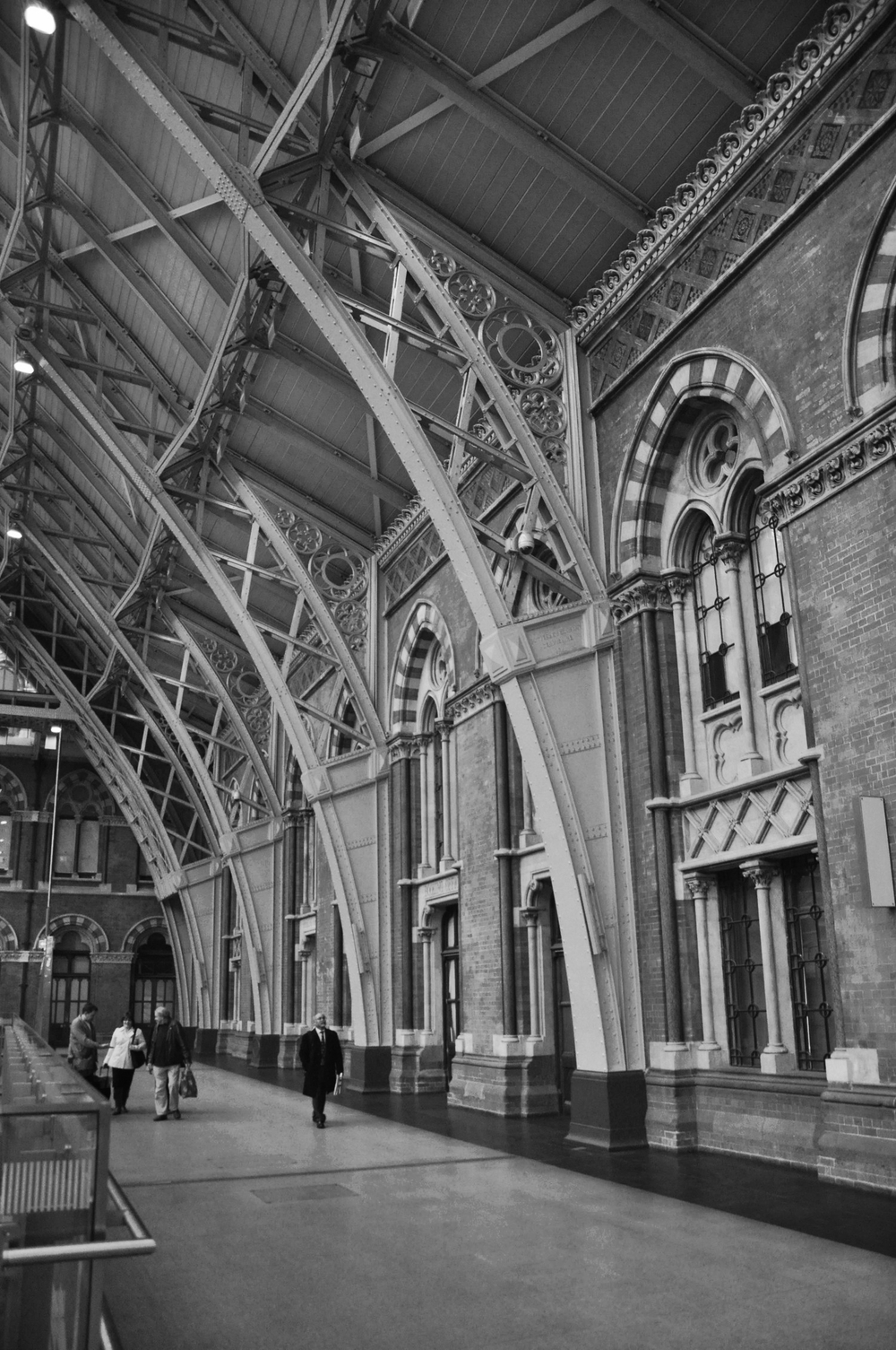 St Pancras Train Shed