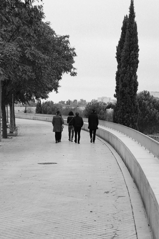 Walking the banks of the Rio Guadalquivir