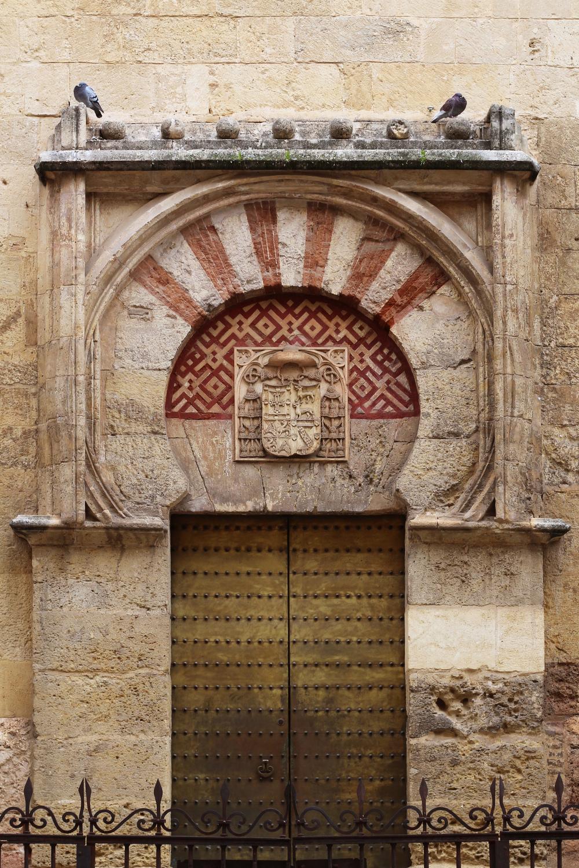 Ornamented Doorwayof Mosque