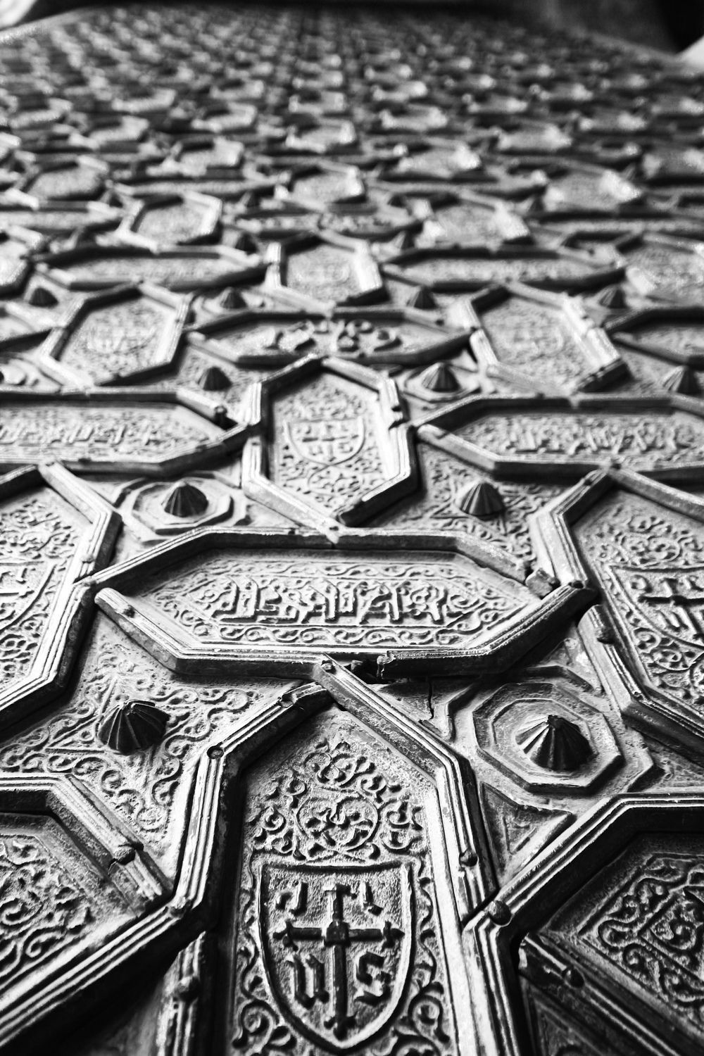 Main Gates to the Mosque, handmade in extraordinary detail