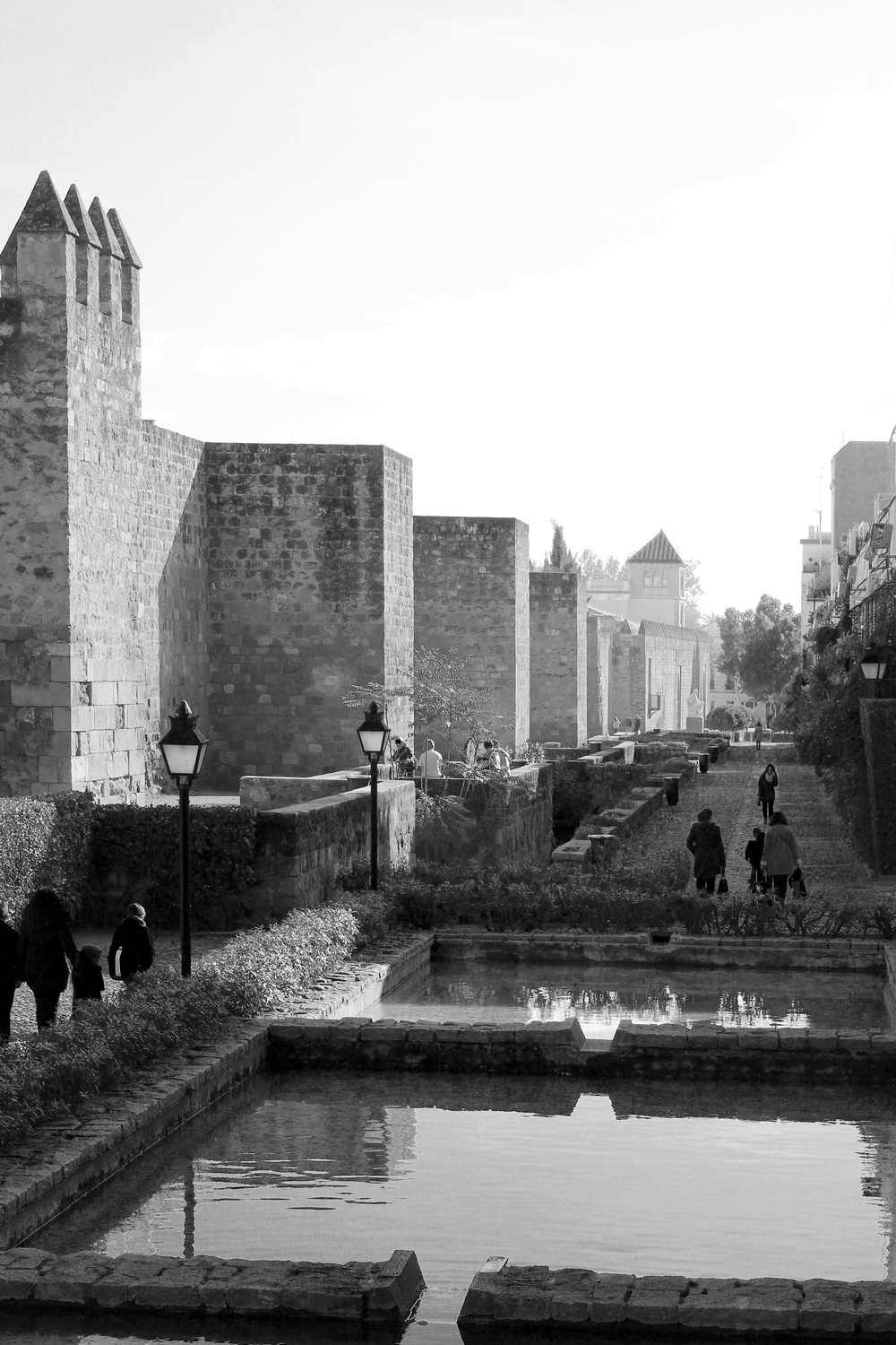 Eastern medieval city wall