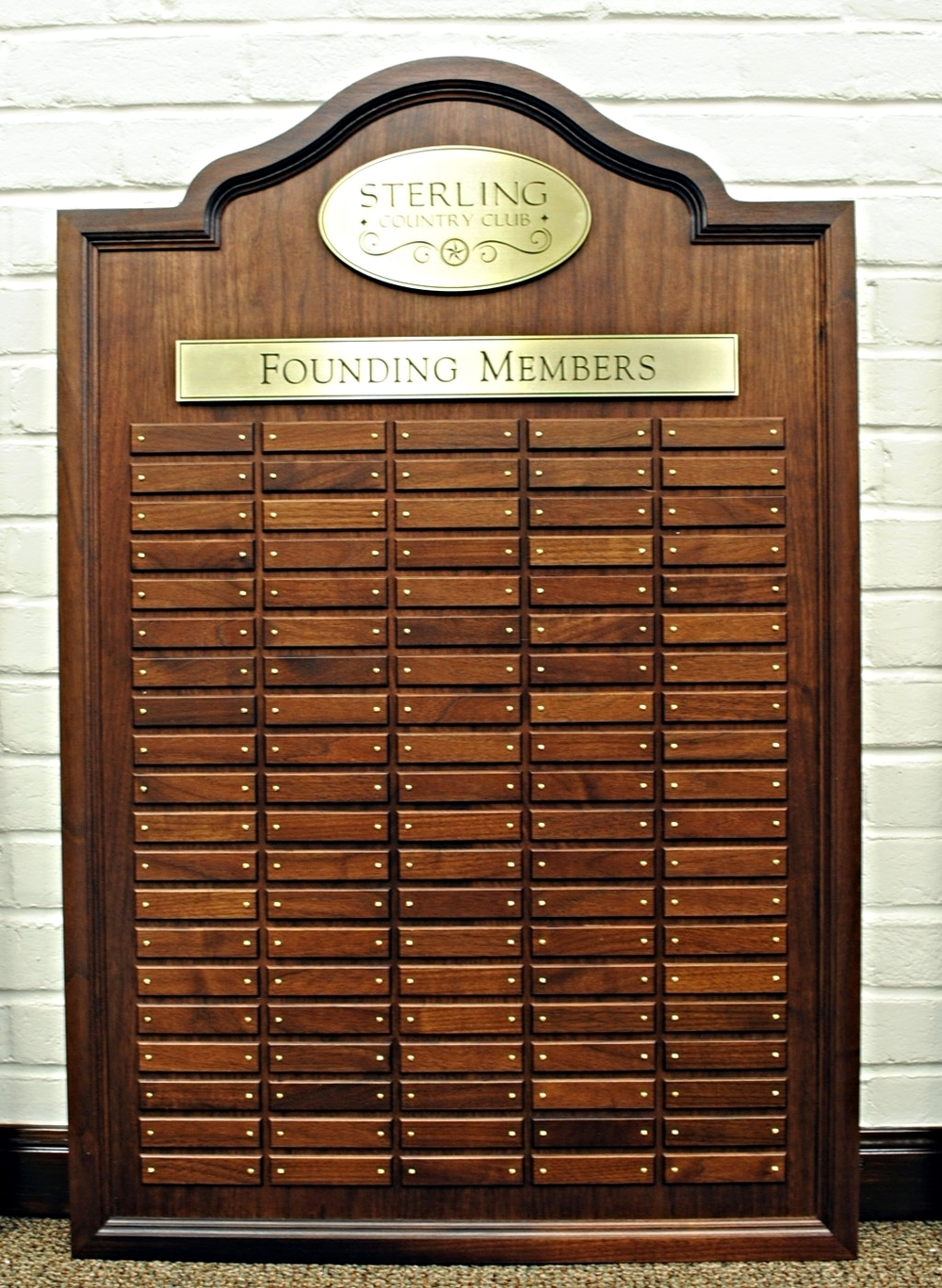 Founding Members Plaque