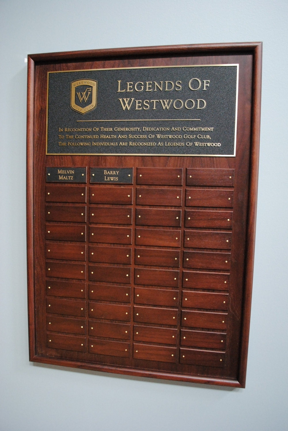 Golf Clubhouse perpetual plaque - westwood - large.jpg