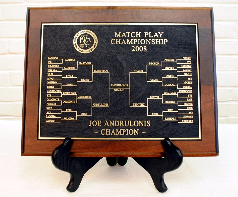 Match Play Bracket Awards 32