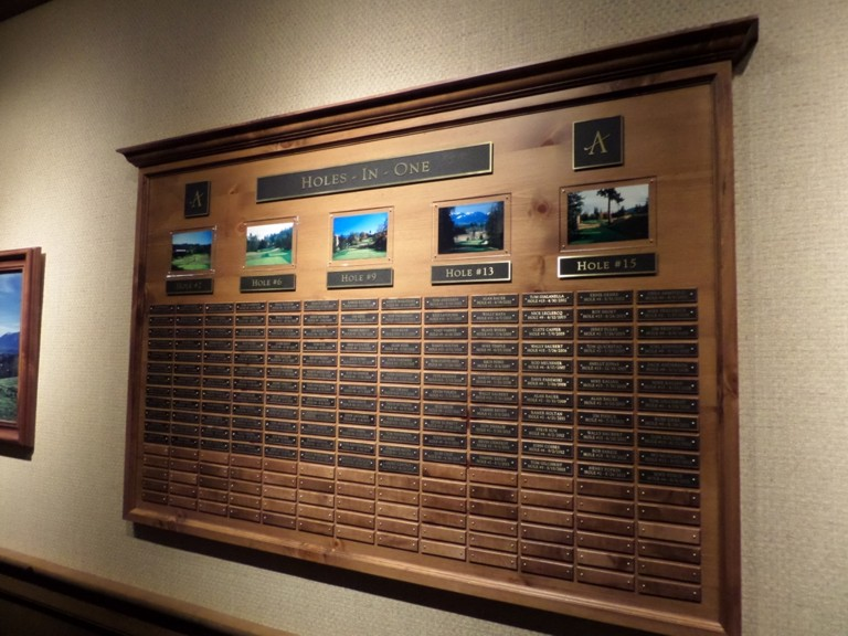Aldarra Hole In One Plaque.JPG