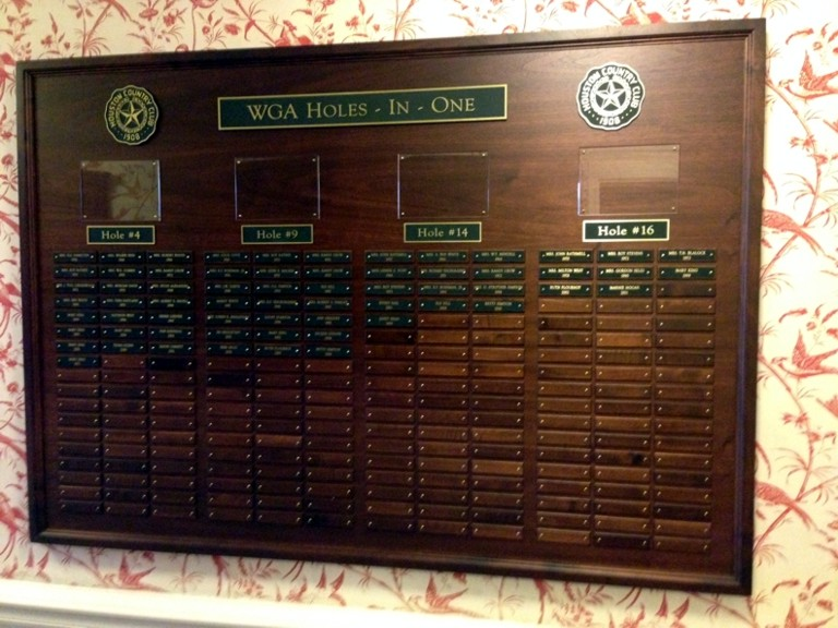Hole-In-One plaque - Houston Country Club.jpg