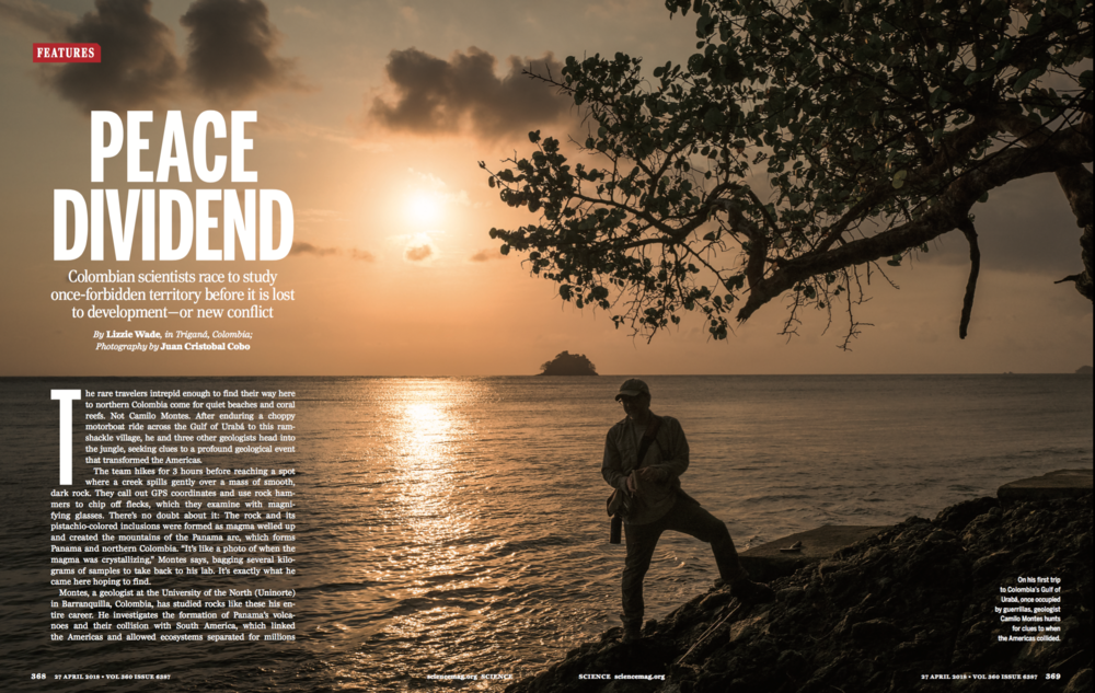 April 27 2018:   Peace Dividend   ,  for Science Magazine