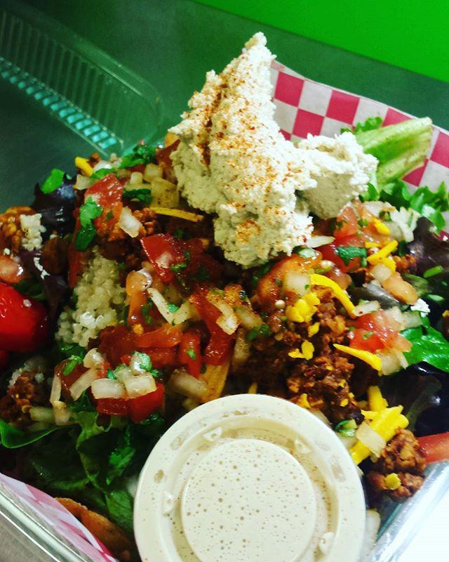 Did yall miss it??!!!! Oh well.... next Thursday!! Taco Bliss Bowl.... #yummmmm #allvegan #plantbasedparadise  #onlyatrawtopianbliss