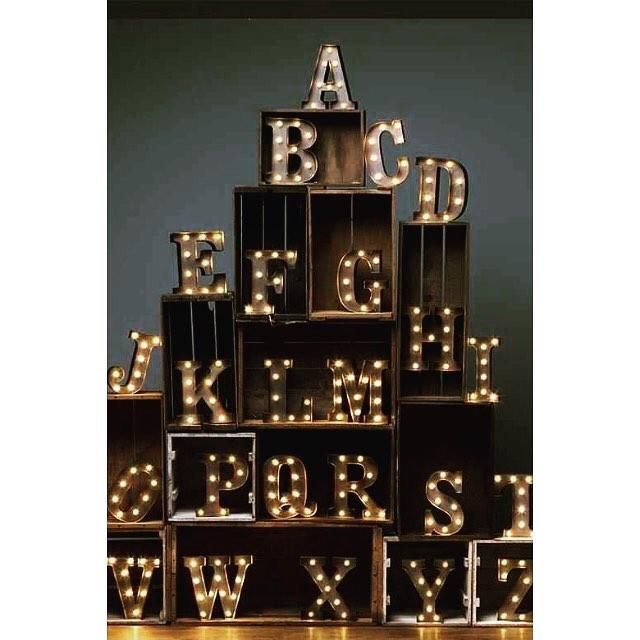 ✨ A - Z ✨  #rocketandrye #carnivallights #alphabet