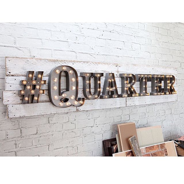 Our bespoke sign for local restaurant The Quarter! ❤️💡🍕 @thequarterliverpool #carnivallights #rocketandrye #thequarterliverpool