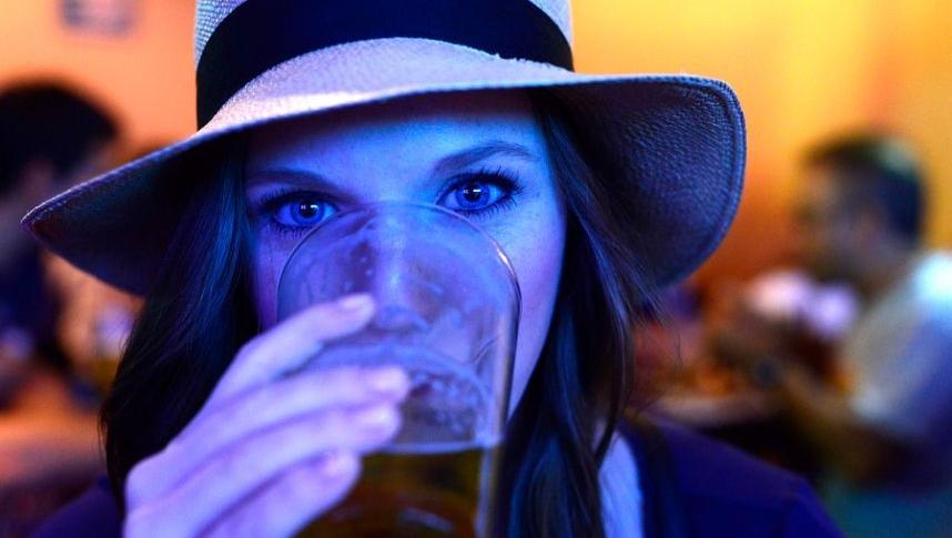This is me drinking beer. Random, but it happen sometimes.