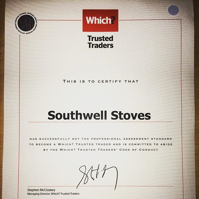 We are now a WHICH? Trusted trader! Search for fireplace & stove installations in the northwest England and we come up first!