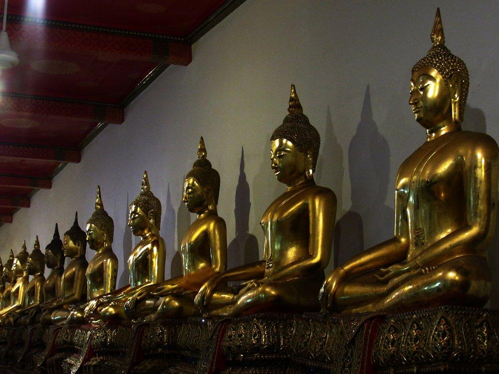 Wat Po, Bangkok, Thailand.