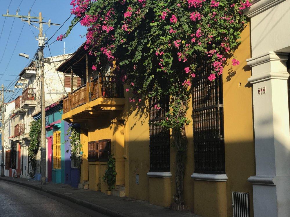 La Ciudad Amurallada, Cartagena, Colombia. July 2017.
