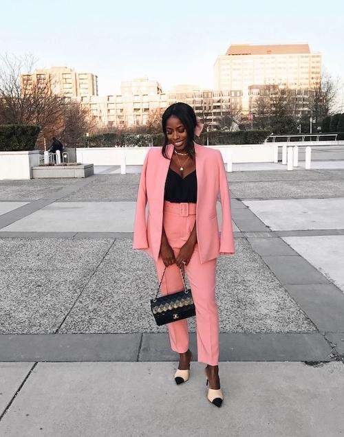 Jenne Marie of High Low Luxxe in Zara