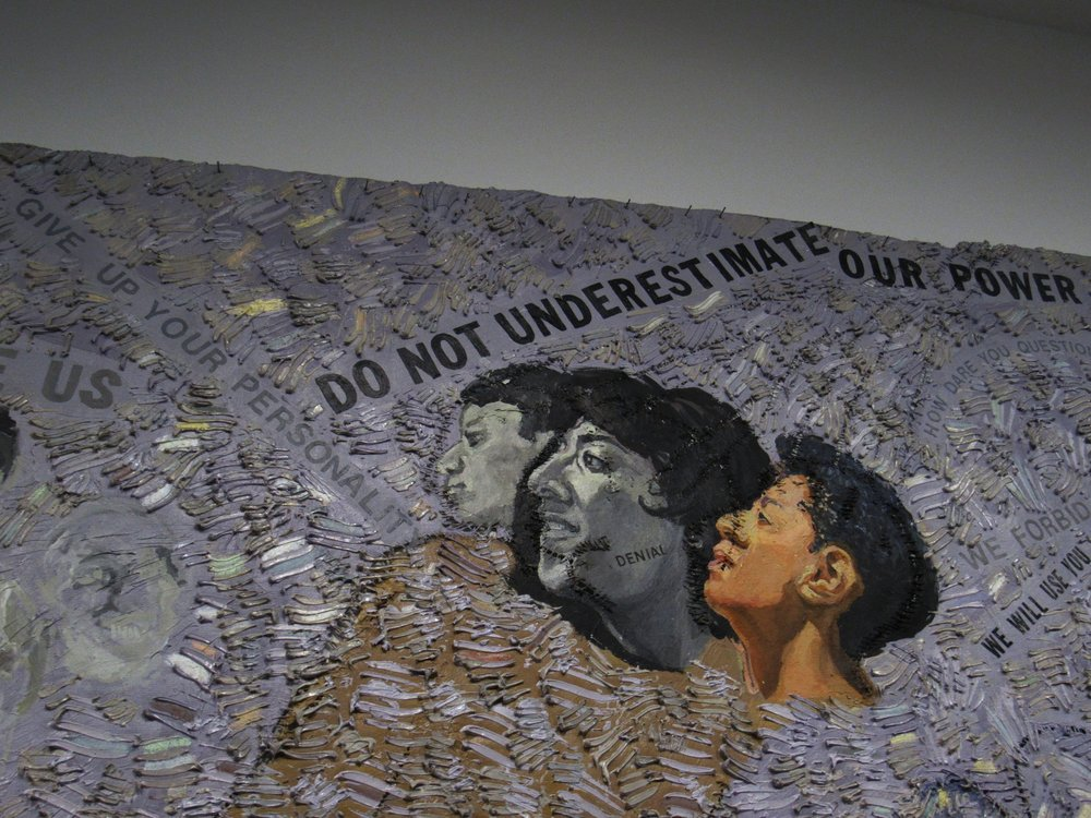 Howardena Pindell.  Museum of Contemporary Art, Chicago