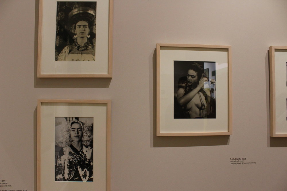 Intimate photos of the artist // Museo de Frida Kahlo
