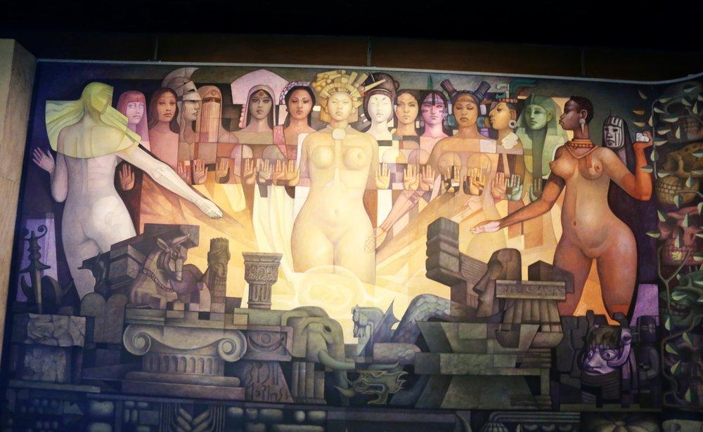 Museo de Antropologia, Mexico City, Mexico.