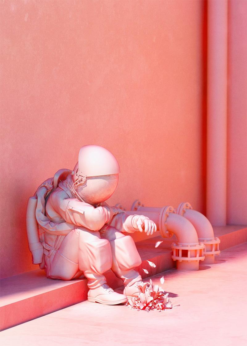 Pink Astronaut / Dániel Taylor