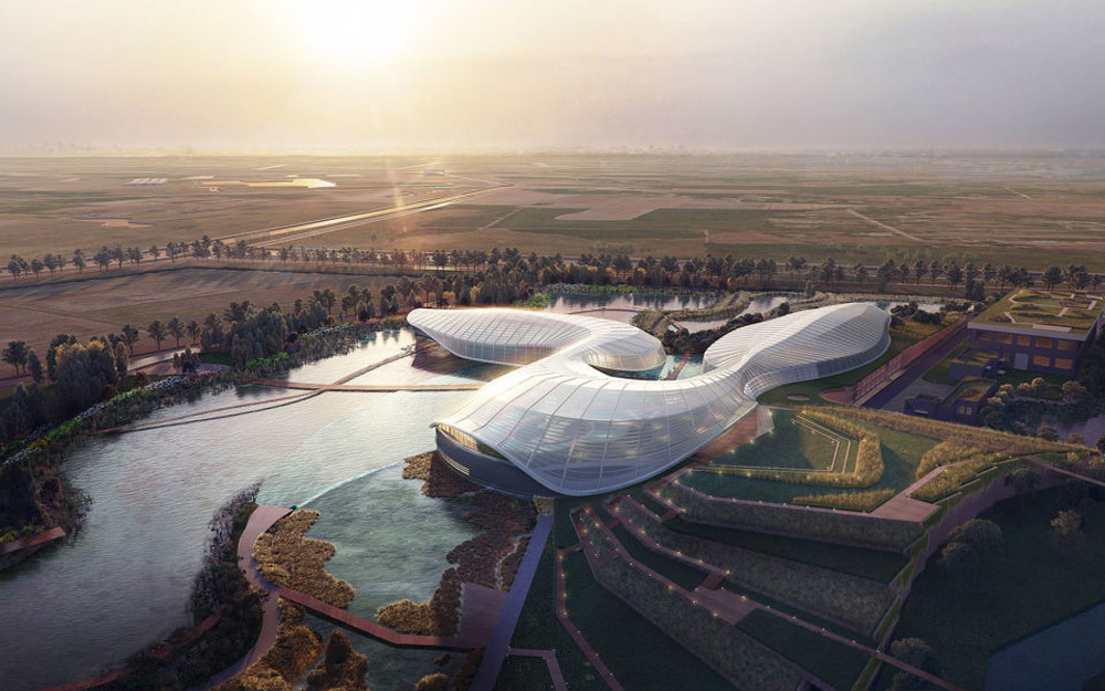 Yangtze River Estuary Chinese Sturgeon Nature Preserve, Ennead Architects