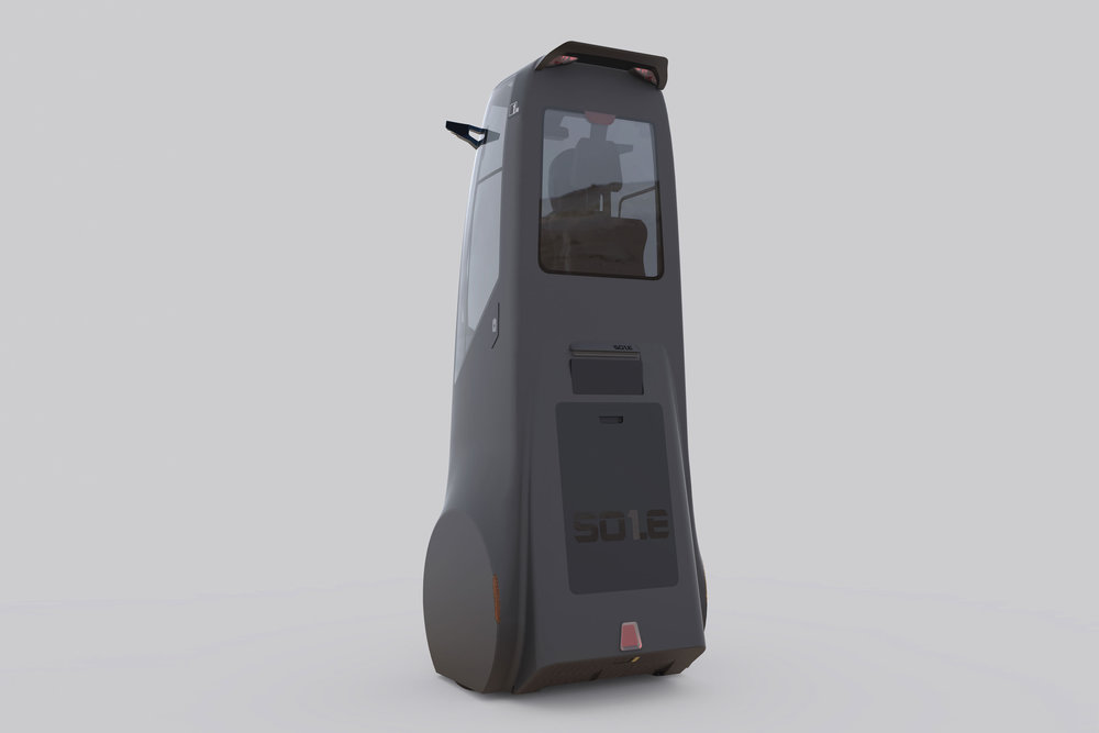 SOLE: THE VERTICAL AUTOMOBILE WINNER OF THE RED DOT DESIGN AWARD